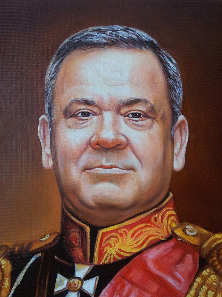 Портрет маслом на холсте в Калининграде