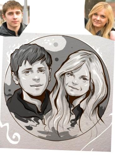 Заказать портрет на годовщину свадьбы в Калининграде