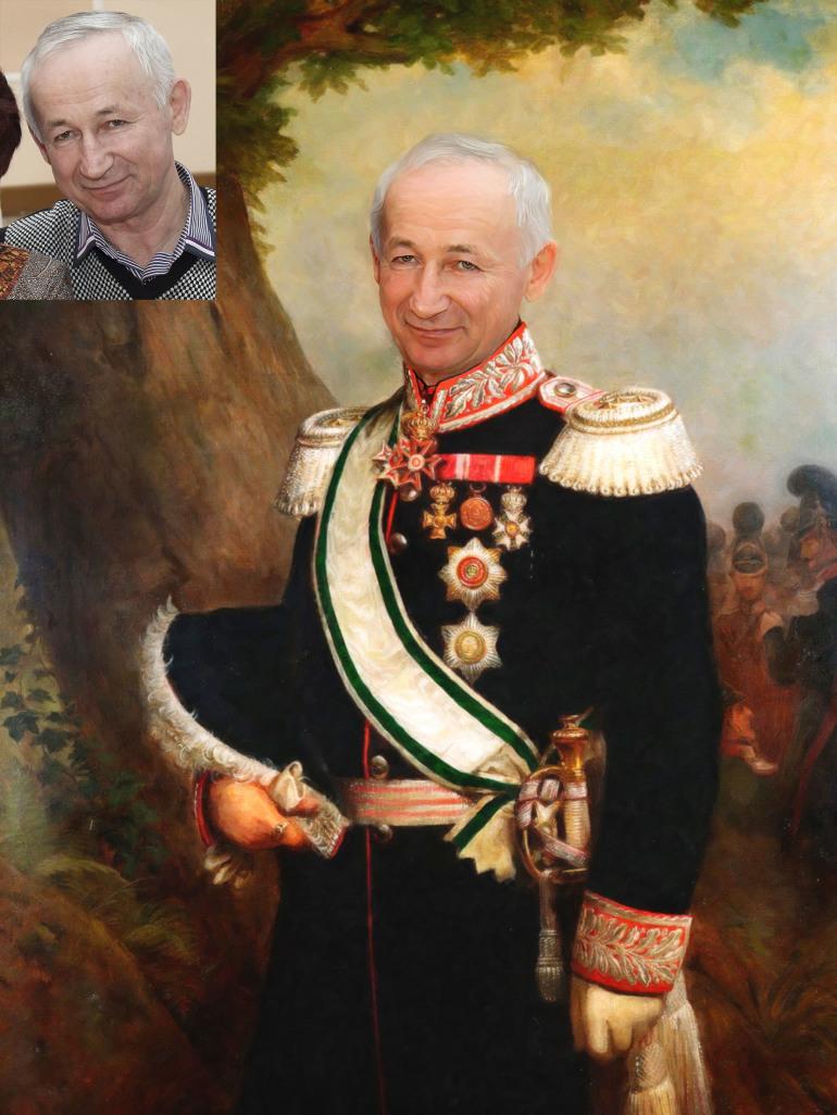 Где заказать исторический портрет по фото на холсте в Калининграде?