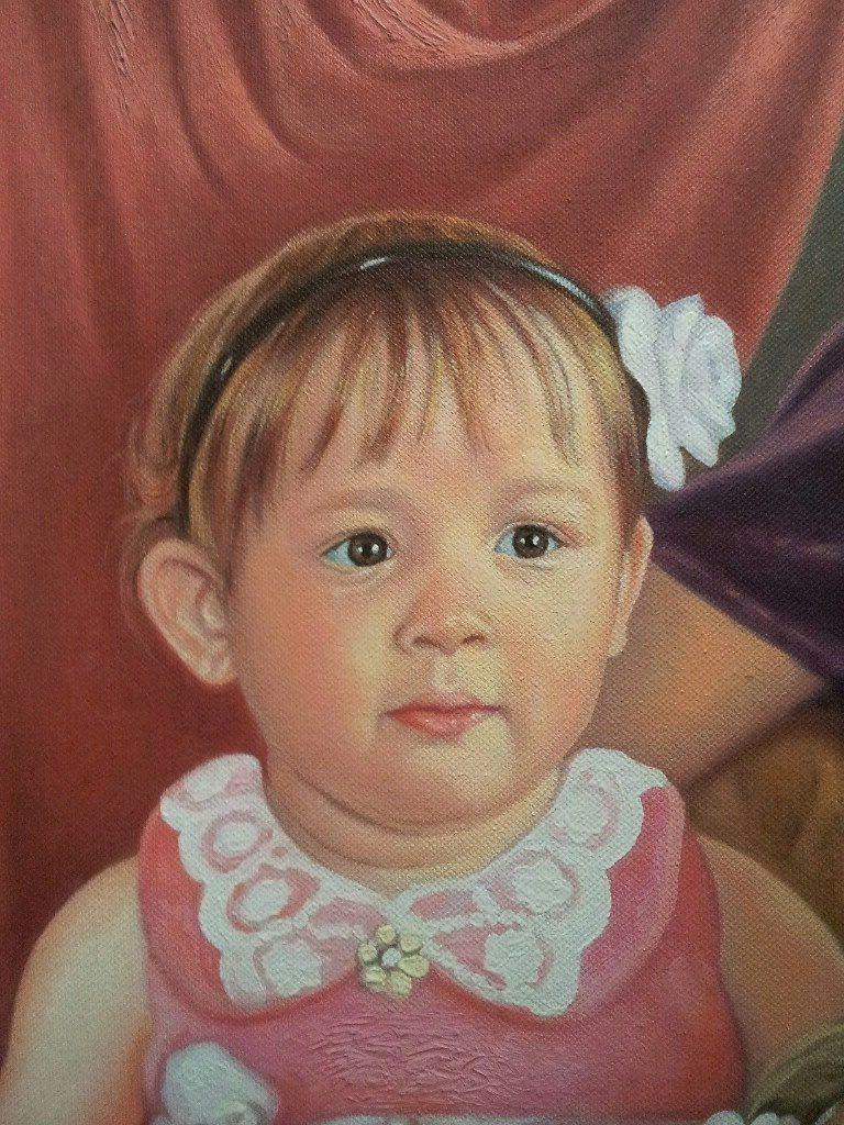 Портрет маслом семейный Калининград