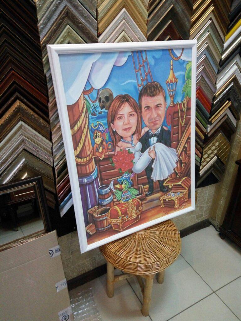 портрет шарж на заказ в Калининграде