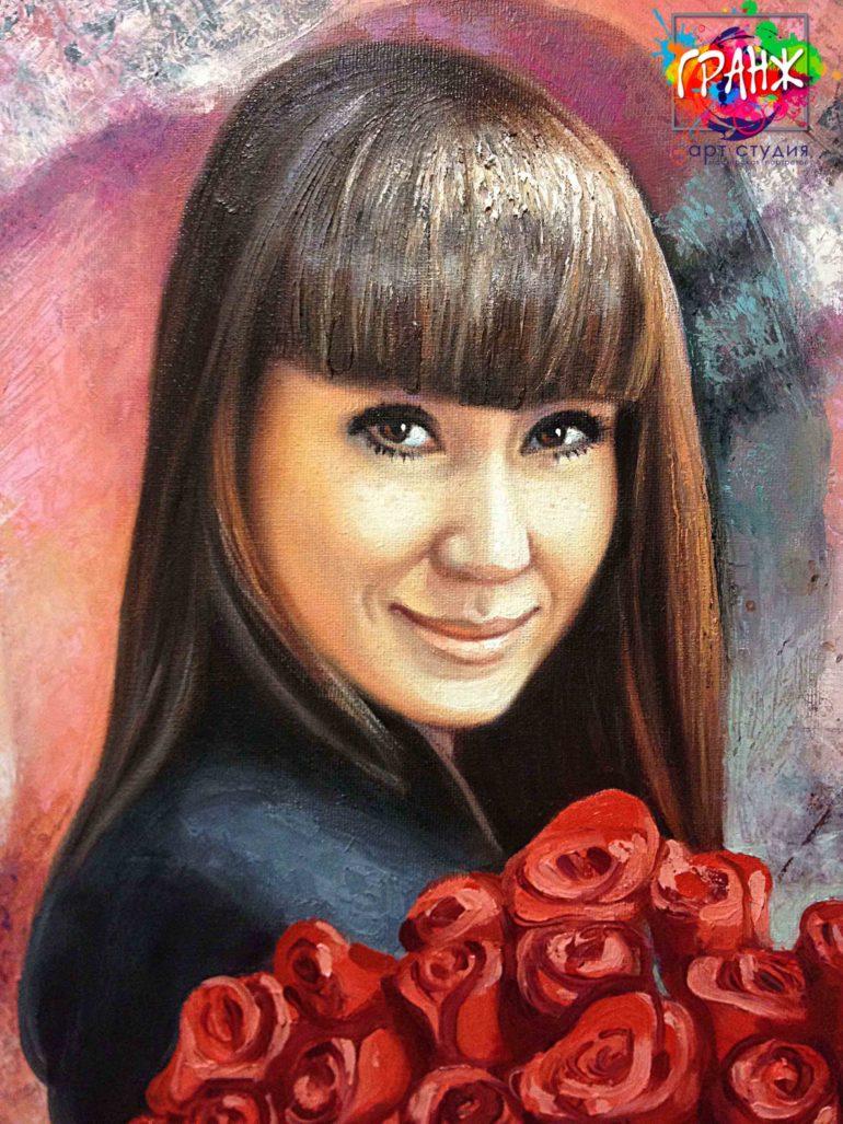 Заказать портрет маслом в Калининграде