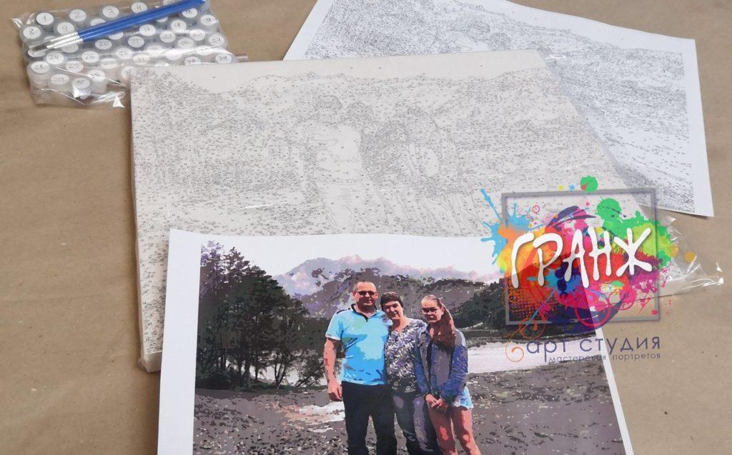 картин по номерам на холсте по фото Калининград
