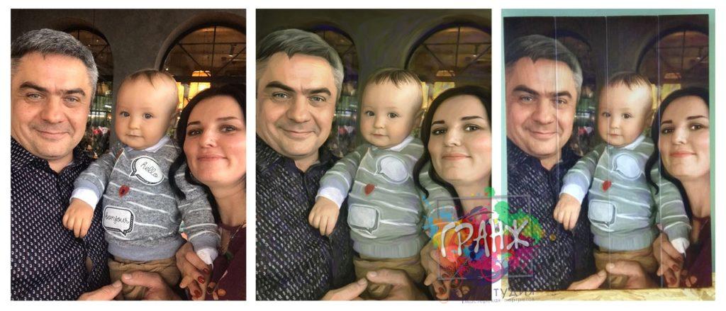 Картины на досках лофт Калининград