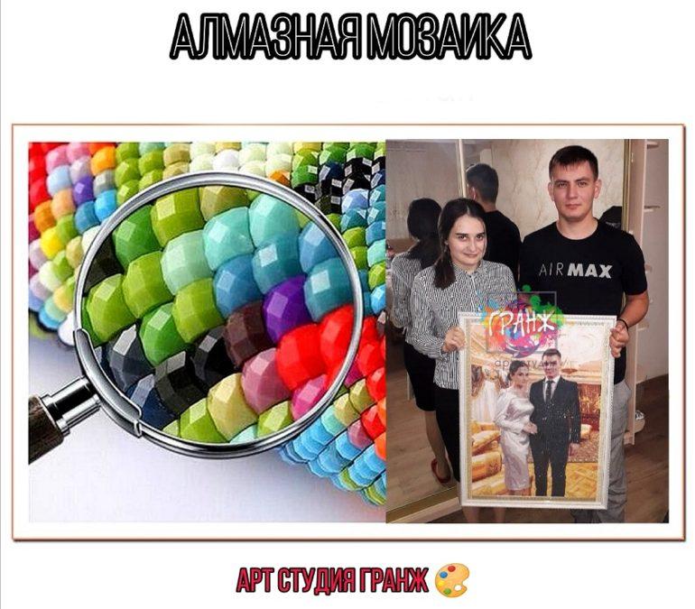 Алмазная мозаика по фото заказать в Калининграде