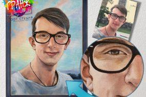 Портретная живопись маслом, купить в Калининграде